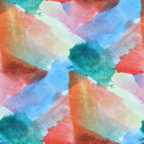 Paint colorful orange, blue pattern water texture abstract color Stock Photography