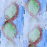Paint colorful pattern blue, green, brown water texture abstract Stock Image