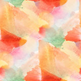 Paint colorful pattern water texture abstract color red, orange Royalty Free Stock Photo