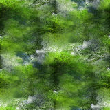Paint colorful pattern water texture green abstract color seamle Stock Image