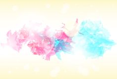 Paint colorful splash abstract background. Vector Stock Images