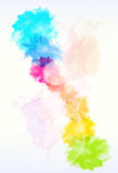 Paint colorful splash abstract background stock illustration
