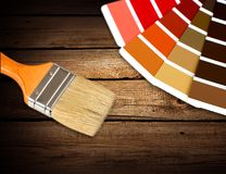 Paint Colors Royalty Free Stock Photos