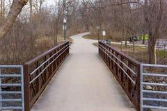 Paint Creek Bridge royalty free stock image