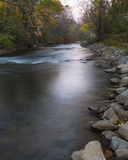 Paint Creek in Fall. At the Rochester Park in Rochester Michigan USA stock photo