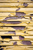 Paint damaged in fire Royalty Free Stock Image