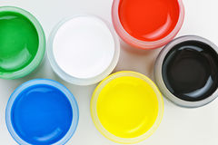 Paint of different colors Royalty Free Stock Photo