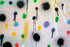 Paint dots Stock Photo