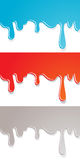 Paint dripping Stock Photos