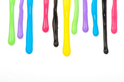 Paint dripping Royalty Free Stock Photo