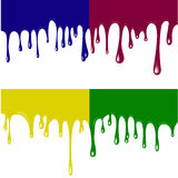 Paint dripping Royalty Free Stock Photos