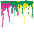 Paint dripping Royalty Free Stock Photography