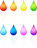 Paint Drips Stock Photos