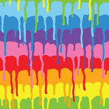 Paint drips pattern vector Royalty Free Stock Photography