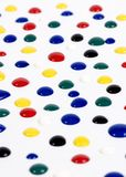 Paint drops 1 Stock Image