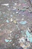 Paint drops on floor Stock Image