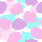 Paint drops seamless pattern. Royalty Free Stock Photos