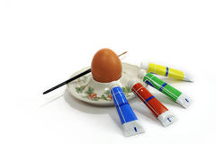 Paint easter egg Royalty Free Stock Photo