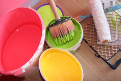 Paint equipment Royalty Free Stock Photos