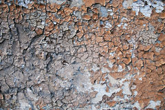 Paint erosion Stock Images