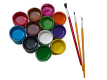 Paint Essentials Isolated Stock Photos