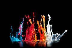 Paint explosion Royalty Free Stock Photos