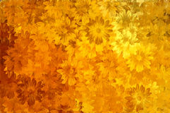Paint floral pattern Royalty Free Stock Images