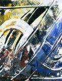 Paint grunge background Royalty Free Stock Image