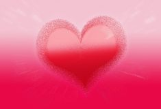paint heart valentine love wallpaper Royalty Free Stock Photography