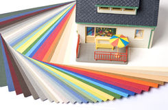 Paint House Royalty Free Stock Photos