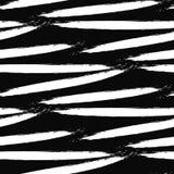 Paint ink brush stroke seamless pattern. Royalty Free Stock Photos