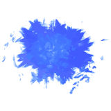 Paint, ink, grunge dirty splash blue Royalty Free Stock Photos