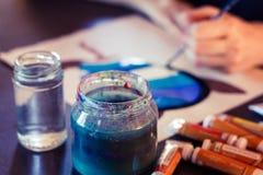 Paint Jar 2 Royalty Free Stock Photography