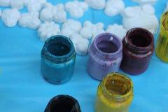 Paint jar Royalty Free Stock Photography