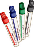Paint Markers Royalty Free Stock Image