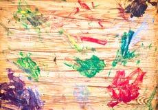 Paint marks stock image