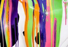 Paint mess Stock Photos