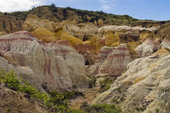 Paint Mine Park east of Colorado Springs, CO Stock Photo