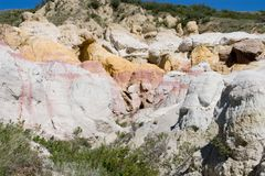 Paint Mines 9 Stock Images