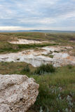 Paint Mines Archeological District located in Calhan, Colorado Royalty Free Stock Image
