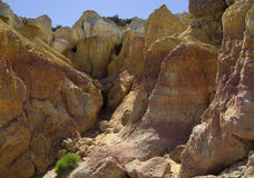 Paint Mines. In El Paso County, Colorado Stock Images