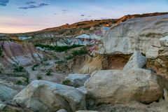 Free Paint Mines Interpretive Park Colorado Springs Stock Photography - 130786952