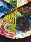 Paint Palette Stock Images