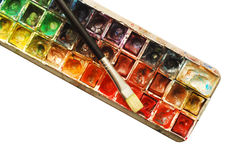 Paint palette Royalty Free Stock Image