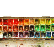 Paint palette Royalty Free Stock Photo