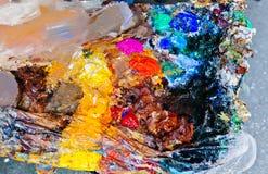 Paint Palette Stock Image
