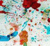 Paint and paper Stock Image