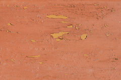 Paint peeled wooden board texture Royalty Free Stock Images