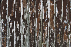 Paint peeling wooden old wall Stock Photo