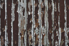 Paint peeling wooden old wall Royalty Free Stock Photos